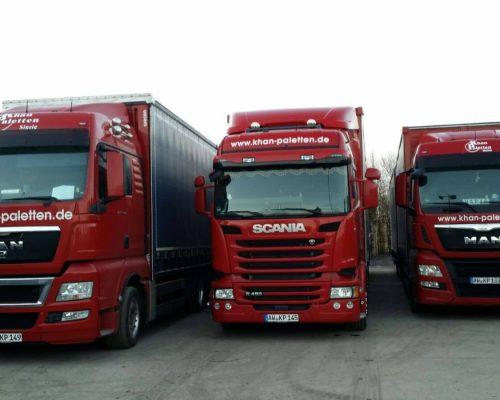 Logistik Paletten LKW